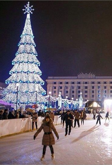 Christmas in Kharkiv - Ukraine