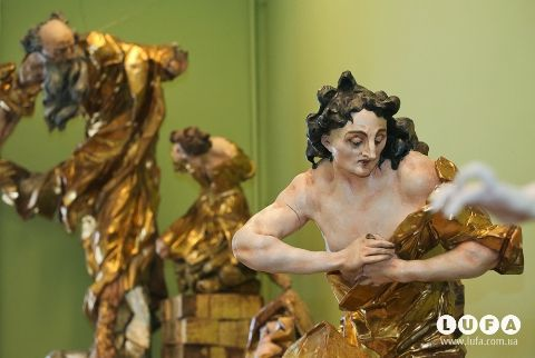 У Львові відкрилась виставка скульптур Пінзеля