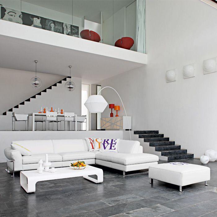 Modern oturma odası tasarımları 10