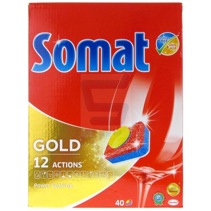 Tablete pentru masina de spalat vase Somat Gold 40