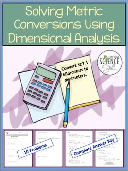 dimensional analysis homework help
