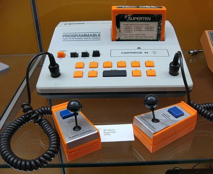 My first games console - Binatone Superstar. 70's retro.