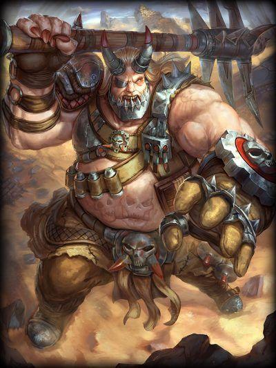 Smite : Warlord Khumba