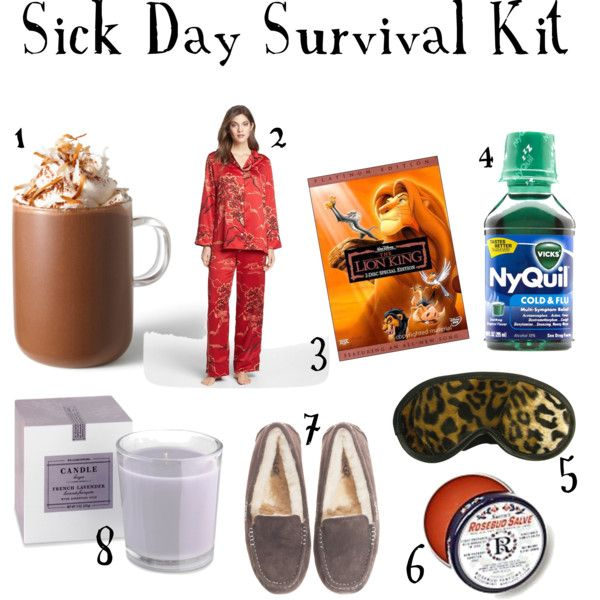 Sick Day Essentials by ramshackleglam change the lion king to Doctor Who and you've got a winning combo!