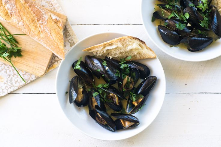 Julia Child's Mussels Mariniere - The Little Ferraro Kitchen