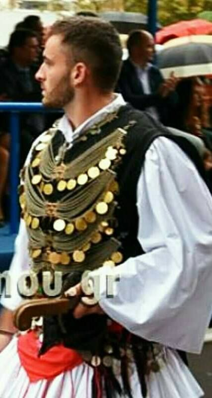 Macedonian Costume - Traditional costume  of historical #Macedonia in northern #Greece