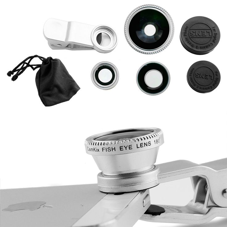 Peacechaos®universal Phone Lens 3 In1 Cell Phone Camera Lens Kits Included Fish Eye Lens + 2 in 1 Macro Lens & Super Wide Angle Lens / Universal Phone Clip / Soft Fiber Carrying Bag (Sliver). This lens kit is made of high quality optical lenses lenses, after twenty times polished, highly detailed and has a very significant effect of optical lenses with three films (with the glasses we wear the same blue film green film), in order to prevent deformation affect the optical photographic…