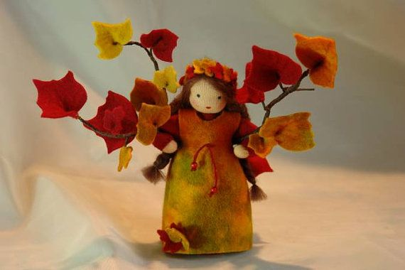 Ivy  fiore bambino  Waldorf ispirato  tabella di natura