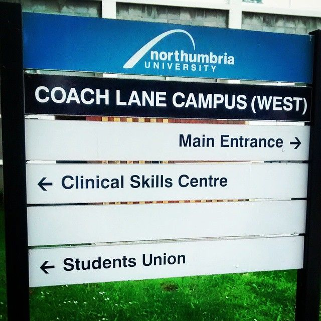 As well as our City Campus, don't forget our Coach Lane Campus!