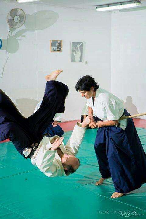 The master!! Jerusalem aikido