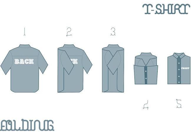 1000 ideas sobre doblar camisas en pinterest trucos - Truco para doblar camisetas ...