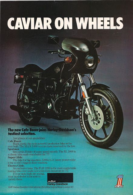Super-Cycles blog: XLCR 1000 Cafe Racer 1977