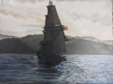 """Saatchi Art Artist Tatiana Wilson; Painting, """"Seascape from film 'In the heart of the sea'"""" #art"""
