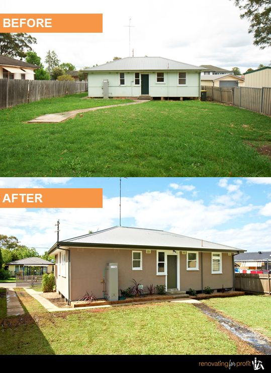#Home #Renovation #Backyard See more exciting projects at: www.renovatingforprofit.com.au