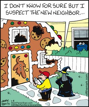 Sesame Street humor Off the Mark. Funny cartoons / it was Cookie!!!