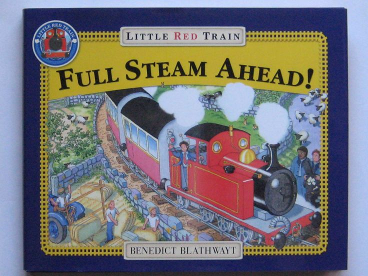 Full Steam Ahead! Little Red Train Price:$5.49