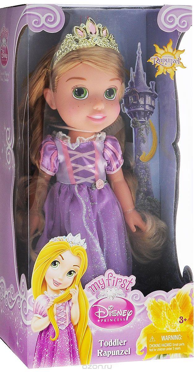 Купить disney princess кукла малышка рапунцель цвет платья сиреневый - детские товары Disney Princess в интернет-магазине OZON.ru, цена disney princess кукла малышка рапунцель цвет платья сиреневый.