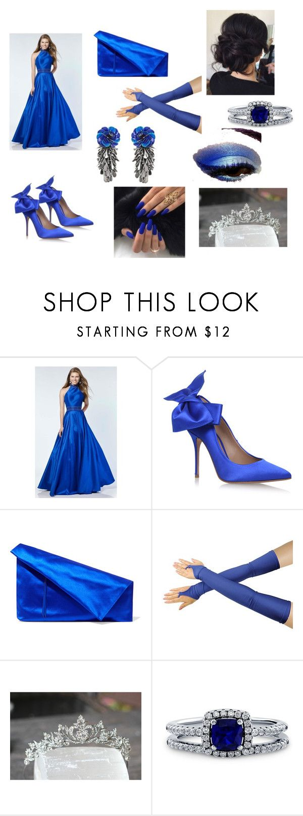 """""""Preppy Prom"""" by outfit-creator ❤ liked on Polyvore featuring Alyce Paris, Diane Von Furstenberg, BERRICLE, Forest of Chintz, pretty and fabulous"""