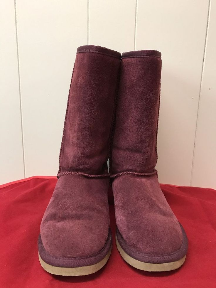 Women's Ugg Boots Redwood Classic Tall Size W8 Gift #UGGAustralia #ClassicTall