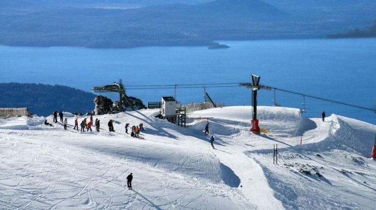 Lugares donde practiqué ski. Cerro Catedral en Bariloche. Argentina