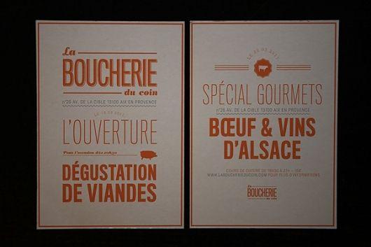 Boucherie du coin | Emmanuel Cook — Designspiration