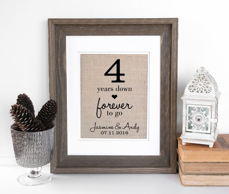 Wedding Gifts For 4th Anniversary : best ideas about 4th Wedding Anniversary Gift on Pinterest Wedding ...