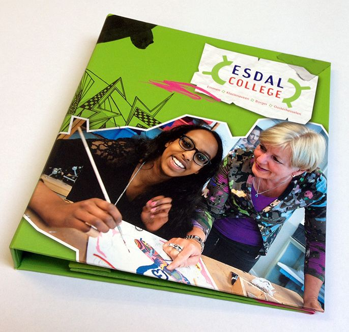 Kalendermapje, Esdal College