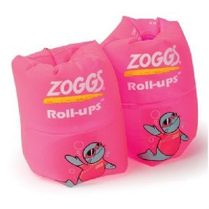 Zoggs Roll Ups Arm Bands Pink £9.99