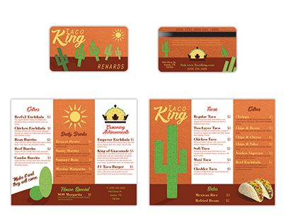 "Check out new work on my @Behance portfolio: ""Taco King Menu and Business Card"" http://be.net/gallery/53129139/Taco-King-Menu-and-Business-Card"