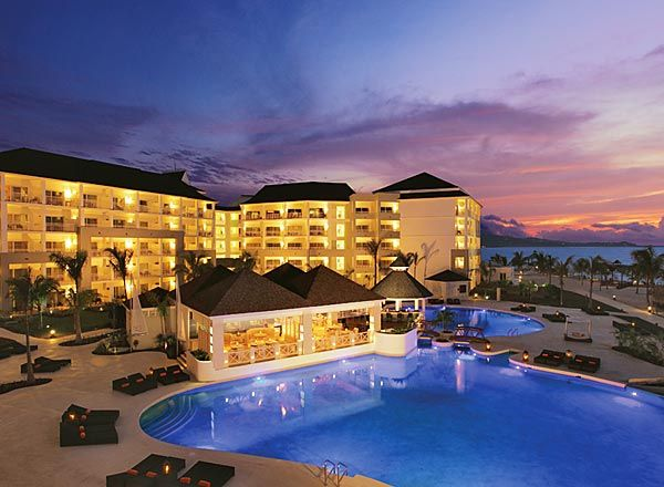 Secrets Wild Orchid Resort in Montego Bay, Jamaica.  This is where I spent my honeymoon.  I want to go back!
