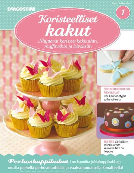 Olen tilannut tämän lehden, ihania erilaisi reseptejä ja kivoja lahjoja leivonnan avuksi!