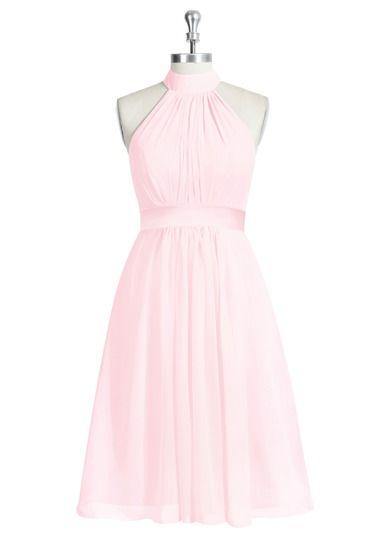 AZAZIE AIYANA. Aiyana is a gorgeous knee-length A-line bridesmaid dress in…