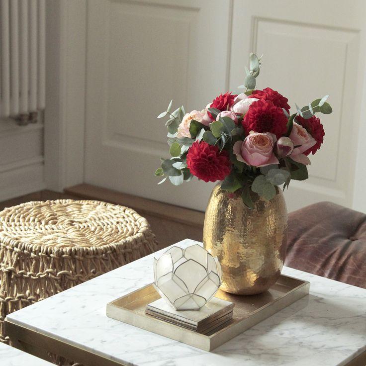 My home. Brass & Marble Coffeetable by Magdalena Tekieli. Order magdalena@tekieli.pl