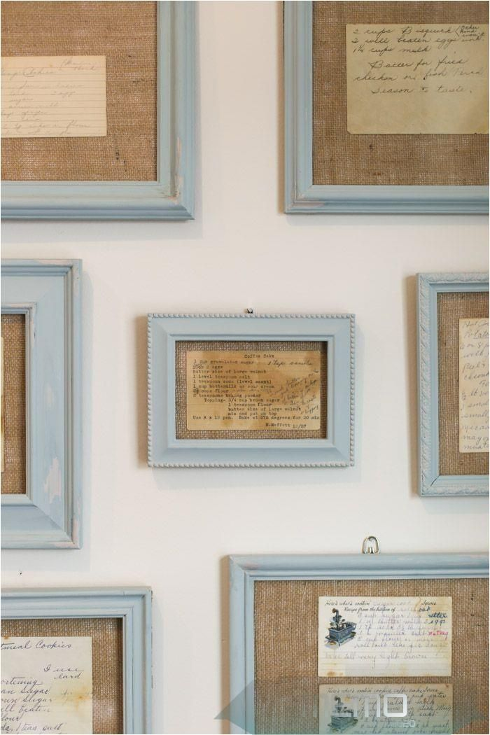 Dec 22 2017 Easy And Unique Kitchen Art Using Antique Framed Recipes Kitchendecorwall Diy Framed Wall Art Framed Recipes Framed Wall Art