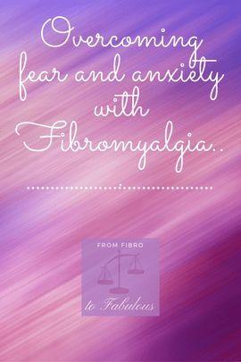 Fear Itself… #fibromyalgia