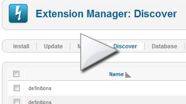 Find out why and when you should use Joomla Discover Extensions function.  Is a video tutorial which I made it just for you.