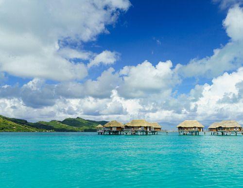8 Romantic Honeymoon Destinations: Bora Bora, French Polynesia