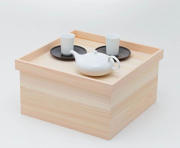 収納+テーブル=「HAKO-ZEN」、どこでもティースペースに