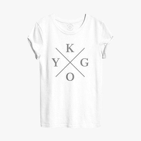 KYGO BLACK LOGO TEE