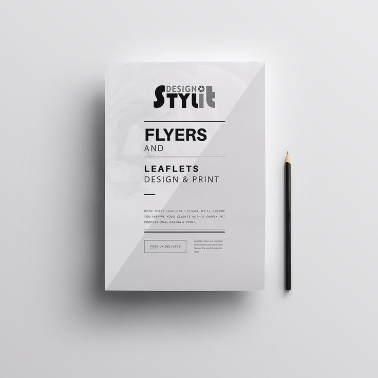 With these Leaflets / Flyers, we'll ensure you inspire your clients with a simply yet professional design & print.  Leaflets / Flyers are essential for business communication. Spread the word the simple way!  Design & Printed Free Delivery within UK