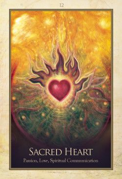 Gaia Oracle.  The Gaia Oracle features the artwork of Toni Carmine Salerno on its 45 cards. The deck is inspired by Gaia, the Earth goddess, and offers healing and guidance through its art and affirmations. http://www.aeclectic.net/tarot/cards/gaia-oracle/