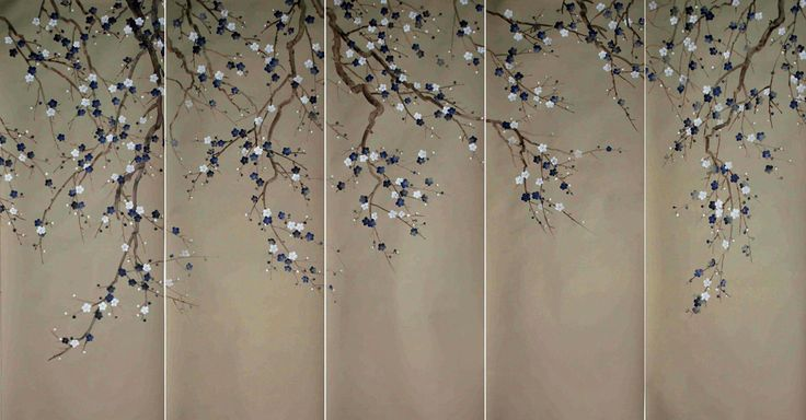 Chinoiserie Papers » Sabra (embroidered) | Griffin & Wong