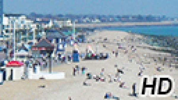 Beach cam from Bognor Regis