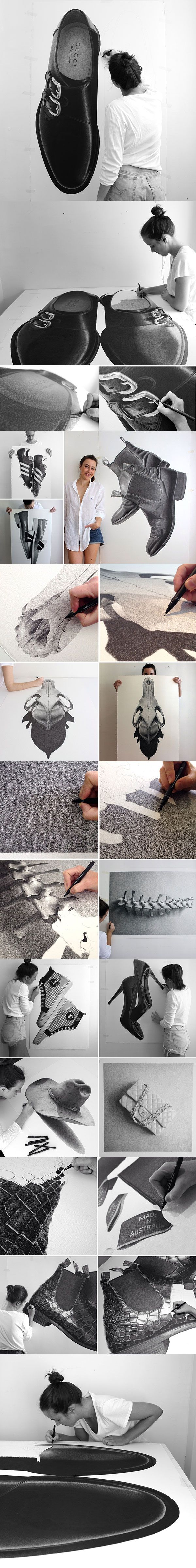 Realistic Drawings B&W   cjhendry
