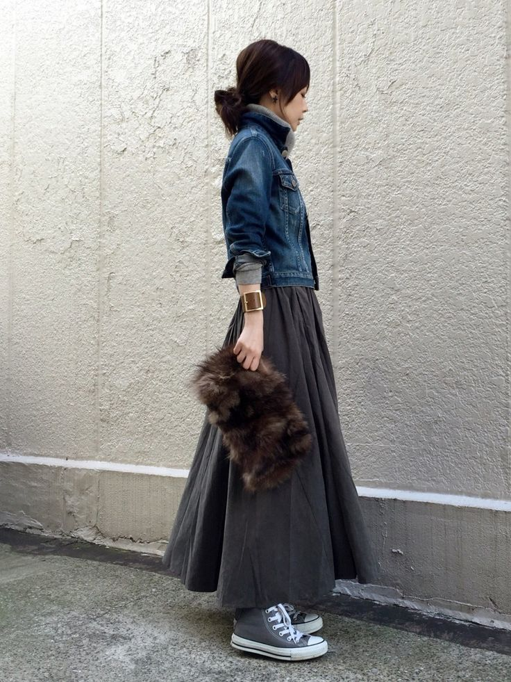 ari☆さんの「デザインスカート(antiqua)」を使ったコーディネート