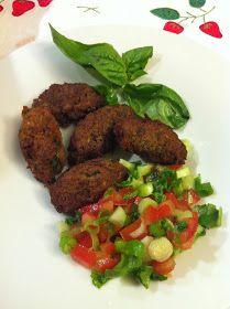 La mia cucina persiana: Le mie Polpette di Lenticchie e Melanzane