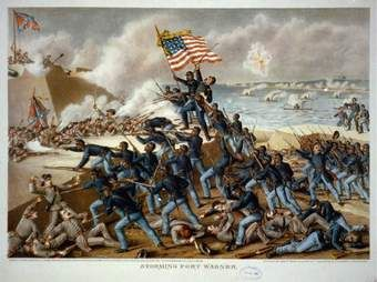 Photos of Soldiers of the 54th Massachusetts Regiment Recruitment Poster to join the 54th Regiment The Robert Gould Shaw and 54th Massachusetts Regiment Memorial in Boston Paintings of the Battle a…