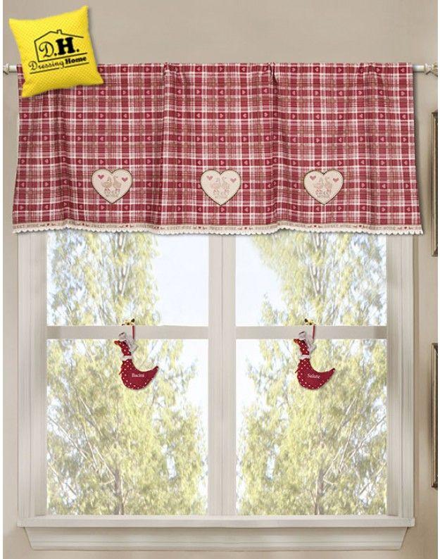 Mantovana Angelica Home & Country Collezione La casa delle Oche in Rosso