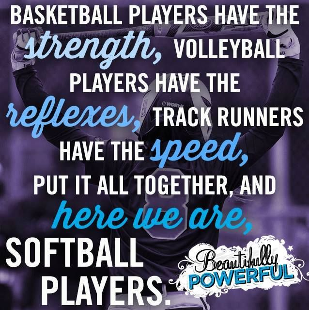Motivational Quotes For Sports Teams: 25+ Best Ideas About Softball Sayings On Pinterest
