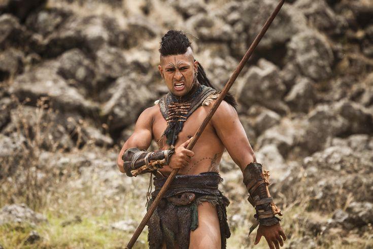 Te Kohe Tuhaka as Wirepa in The Dead Lands a movie featuring Māori of New Zealand #DeadlandsMovie #Hautoa http://www.pinterest.com/bradwalker/